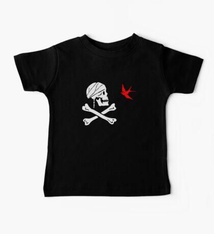 The Flag of Captain Jack Sparrow Baby Tee
