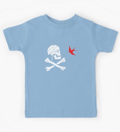 The Flag of Captain Jack Sparrow Kids Tee