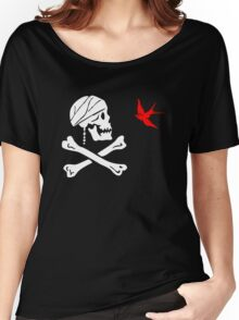 The Flag of Captain Jack Sparrow Women's Relaxed Fit T-Shirt
