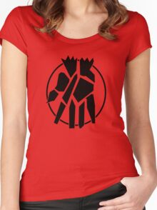 Shattered Hand Clan Women's Fitted Scoop T-Shirt