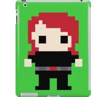 Black Widow Pixel Art iPad Case/Skin