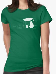 Totoro Puddle Shirt Womens Fitted T-Shirt