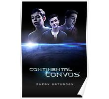 Continental Convos Action Movie Poster Poster