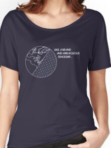 Miraculous Spaceship Women's Relaxed Fit T-Shirt