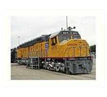 Union Pacific # 6915 Art Print