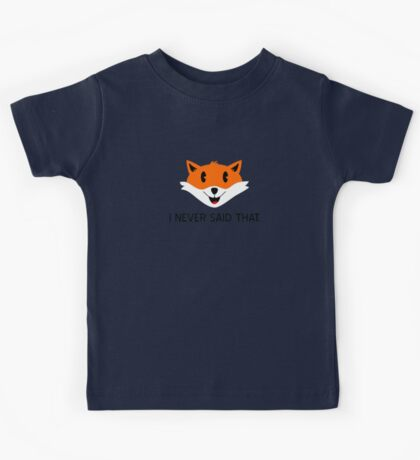 What the Fox Didn't Say Kids Clothes