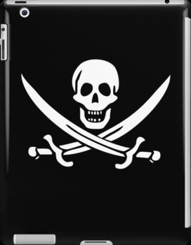 Flag of Calico Jack Rackham by NevermoreShirts