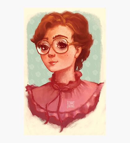 Barb - Stranger Things Photographic Print