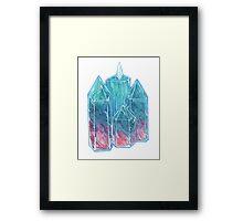 Fluorite. Framed Print