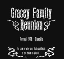 Gracey Family Reunion Baby Tee