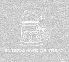 Exterminate or Treat!!! - Dark Shirt Kids Clothes