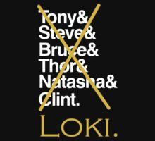 The Avengers - Loki'd! Kids Clothes