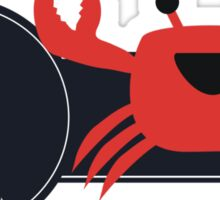 Li'l Cancer Crab Sticker