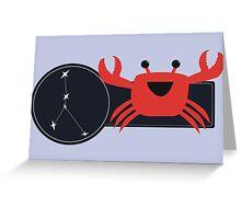 Li'l Cancer Crab Greeting Card