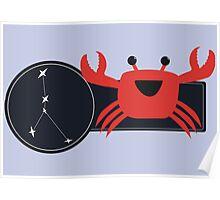 Li'l Cancer Crab Poster