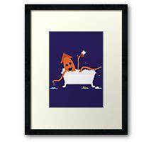 Li'l Kraken Framed Print