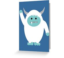 Li'l Yeti Greeting Card
