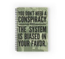Conspiracy Spiral Notebook
