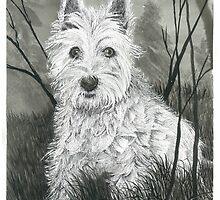 Buddy the Dog - www.jbjon.com by Jonathan Baldock