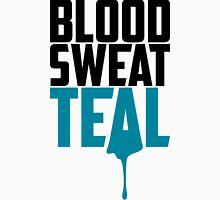 Blood Sweat Teal Classic T-Shirt