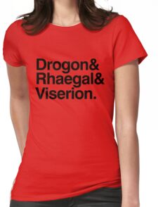 The Dragons Womens Fitted T-Shirt