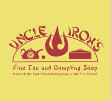 Uncle Iroh's Fine Tea Shop Kids Clothes