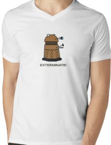 Li'l Dalek Mens V-Neck T-Shirt