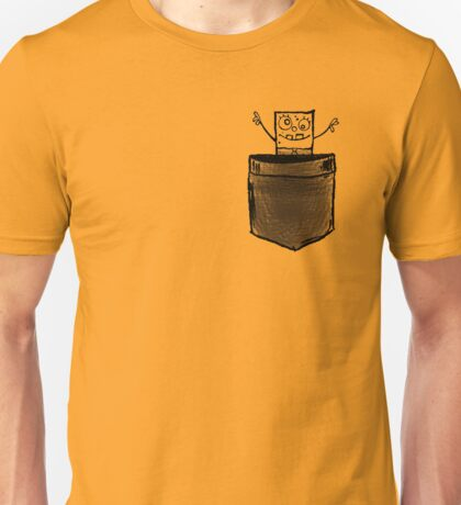 Doodle Bob   Pocket full of Hugs Unisex T-Shirt