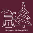 A Very Dalek Christmas - Dark by NevermoreShirts