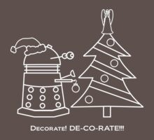 A Very Dalek Christmas - Dark One Piece - Short Sleeve