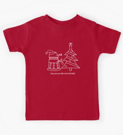 A Very Dalek Christmas - Dark Kids Tee