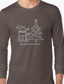 A Very Dalek Christmas - Dark Long Sleeve T-Shirt