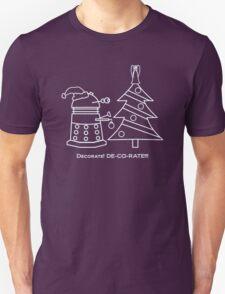 A Very Dalek Christmas - Dark Unisex T-Shirt