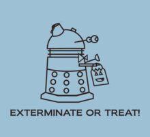 Exterminate or Treat!!! - Light Shirt Kids Clothes