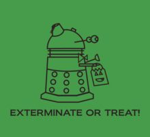 Exterminate or Treat!!! - Light Shirt One Piece - Short Sleeve