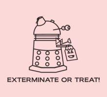 Exterminate or Treat!!! - Light Shirt One Piece - Short Sleeve