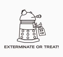 Exterminate or Treat!!! - Light Shirt Kids Clothes