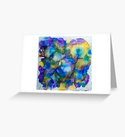 Blurple Ink Greeting Card