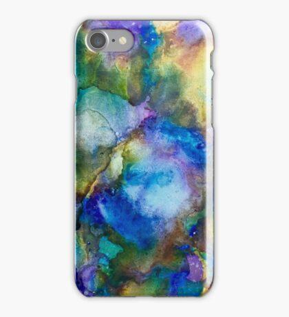 Blurple Ink iPhone Case/Skin