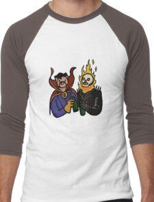 Doctor Strange & Ghost Rider Chilling Out Men's Baseball ¾ T-Shirt