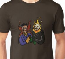 Doctor Strange & Ghost Rider Chilling Out Unisex T-Shirt