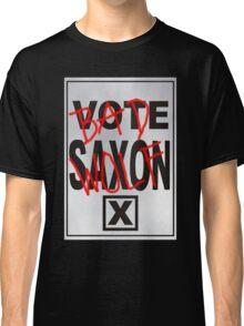 Bad Saxon Poster Classic T-Shirt
