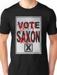 Bad Saxon Poster Unisex T-Shirt