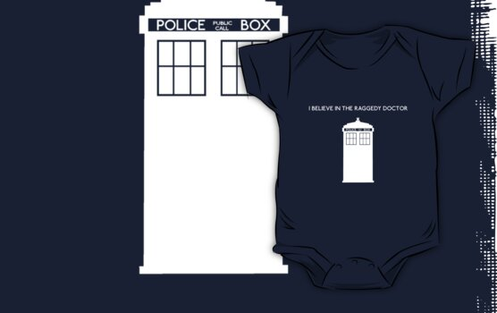 I Believe in the Raggedy Doctor by NevermoreShirts