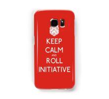 Keep Calm and Roll Initiative Samsung Galaxy Case/Skin