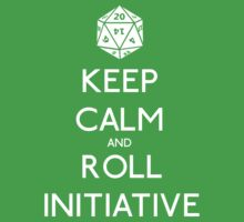Keep Calm and Roll Initiative One Piece - Short Sleeve