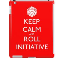 Keep Calm and Roll Initiative iPad Case/Skin