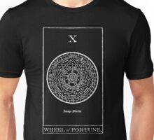 Wheel of Fortune Tarot X Unisex T-Shirt