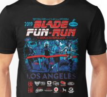 Blade Fun-Run for Displaced Replicants Unisex T-Shirt