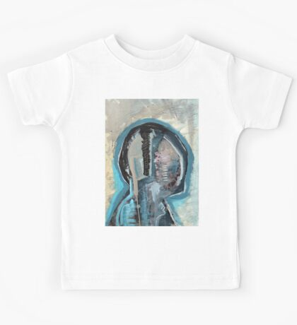 Abstract Anatomy Painting Merch. Kids Tee
